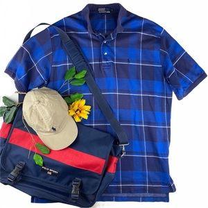 Polo Ralph Lauren VTG Y2K Short Sleeve Plaid Shirt